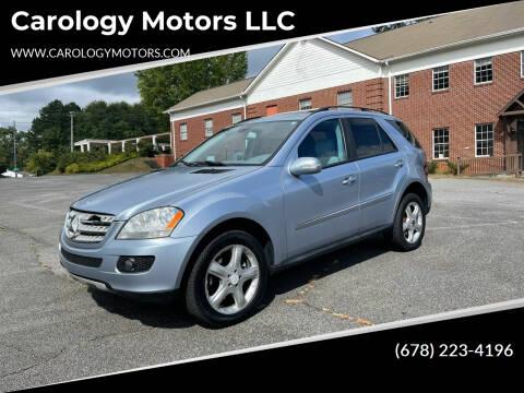 2008 Mercedes-Benz M-Class for sale at Carology Motors LLC in Marietta GA