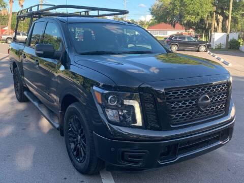 2018 Nissan Titan for sale at Consumer Auto Credit in Tampa FL