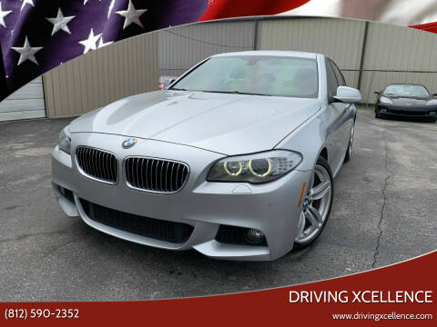 2013 BMW 5 Series for sale at Driving Xcellence in Jeffersonville IN