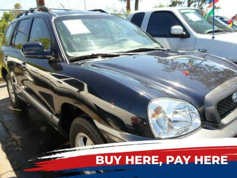 2004 Hyundai Santa Fe for sale at PARS AUTO SALES in Tucson AZ