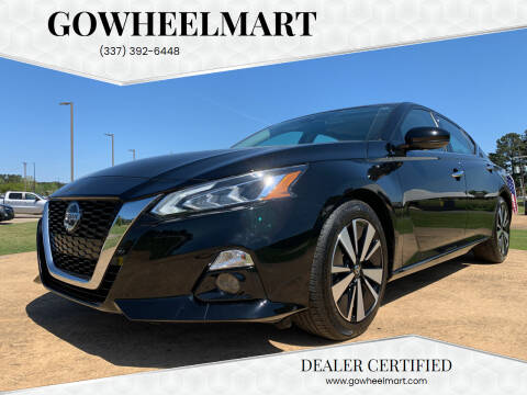 2020 Nissan Altima for sale at GOWHEELMART in Leesville LA
