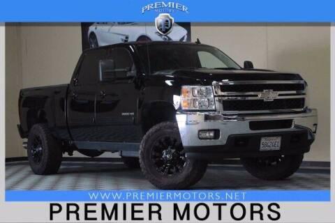 2012 Chevrolet Silverado 2500HD for sale at Premier Motors in Hayward CA