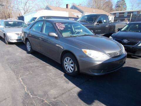 2005 Toyota Camry for sale at MATTESON MOTORS in Raynham MA