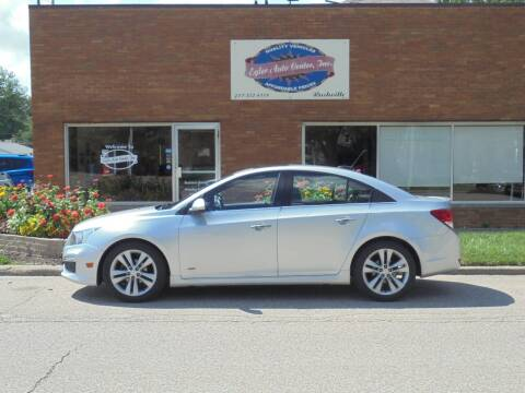 2015 Chevrolet Cruze for sale at Eyler Auto Center Inc. in Rushville IL