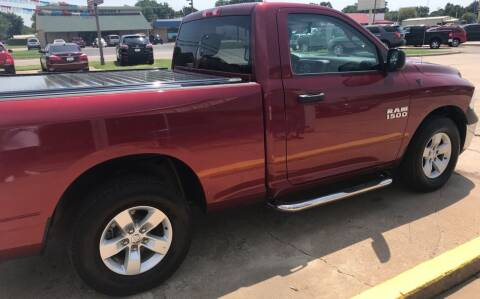 2013 RAM Ram Pickup 1500 for sale at Pioneer Auto in Ponca City OK