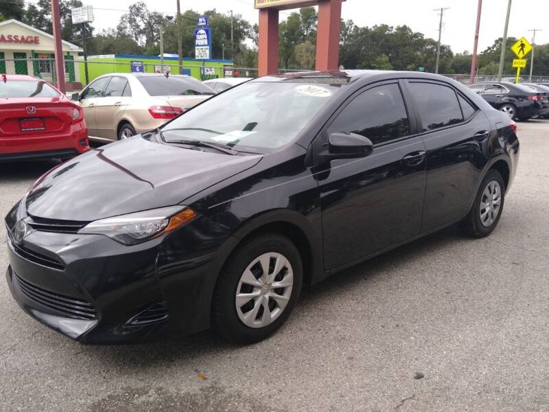 2017 Toyota Corolla for sale at Gold Motors Auto Group Inc in Tampa FL