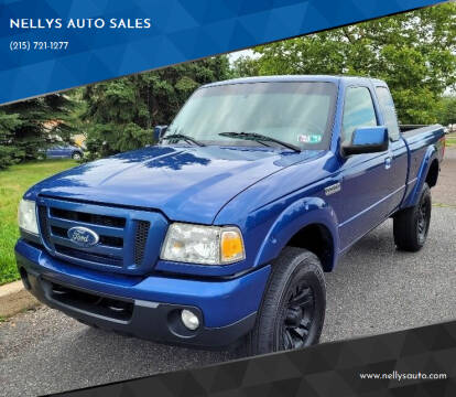 2011 Ford Ranger for sale at NELLYS AUTO SALES in Souderton PA