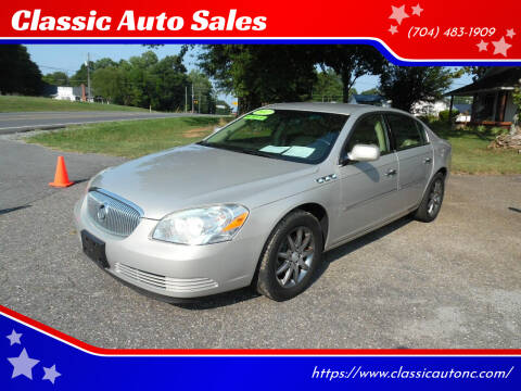 2007 Buick Lucerne for sale at Classic Auto Sales in Maiden NC