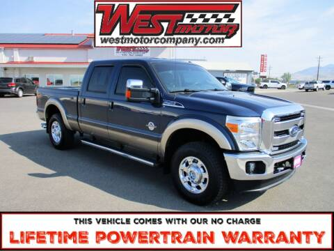 2014 Ford F-250 Super Duty for sale at West Motor Company in Preston ID