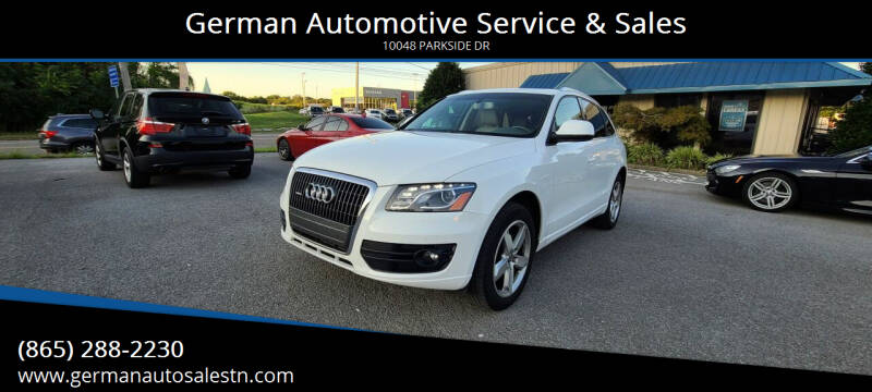 2012 Audi Q5 for sale at German Automotive Service & Sales in Knoxville TN
