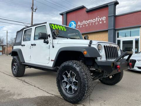 2017 Jeep Wrangler Unlimited for sale at Automotive Solutions in Louisville KY