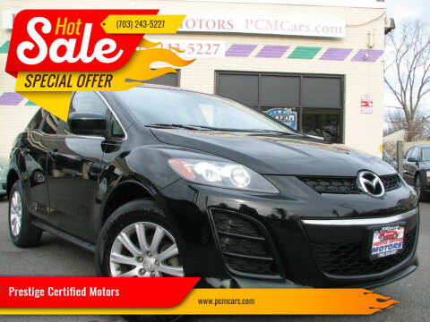 2011 Mazda CX-7 for sale at Prestige Certified Motors in Falls Church VA