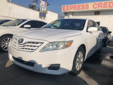 2010 Toyota Camry for sale at Express Auto Sales in Los Angeles CA