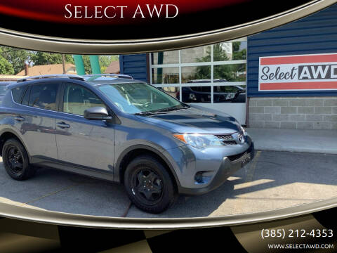 2013 Toyota RAV4 for sale at Select AWD in Provo UT