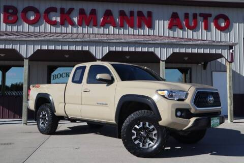 2019 Toyota Tacoma for sale at Bockmann Auto Sales in St. Paul NE