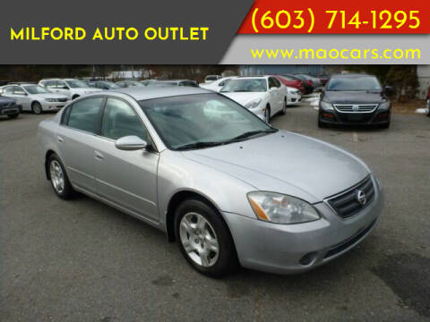 2002 Nissan Altima for sale at Milford Auto Outlet in Milford NH
