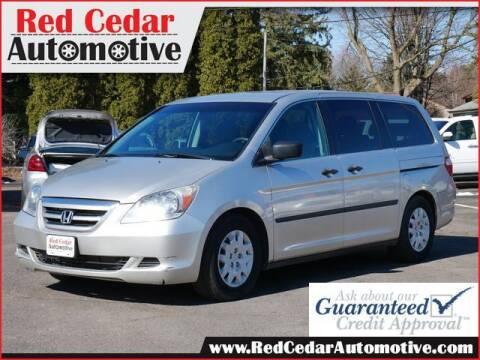2007 Honda Odyssey for sale at Red Cedar Automotive in Menomonie WI
