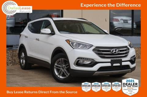 2017 Hyundai Santa Fe Sport for sale at Dallas Auto Finance in Dallas TX
