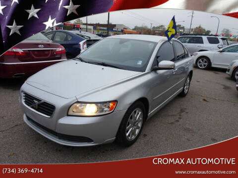 2008 Volvo S40 for sale at Cromax Automotive in Ann Arbor MI