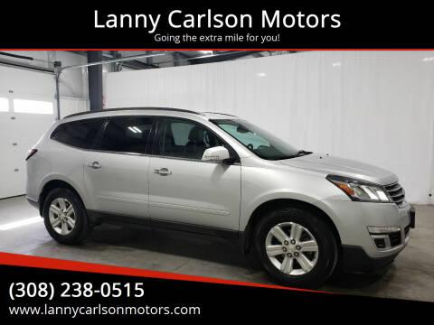2014 Chevrolet Traverse for sale at Lanny Carlson Motors in Kearney NE
