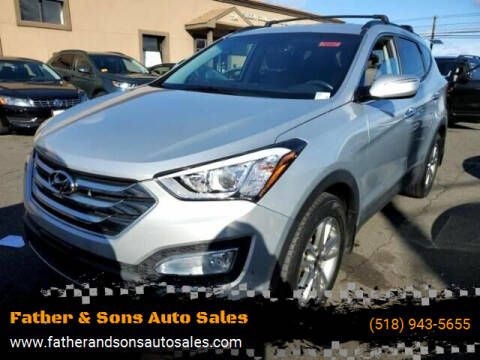 2015 Hyundai Santa Fe Sport for sale at Father & Sons Auto Sales in Leeds NY