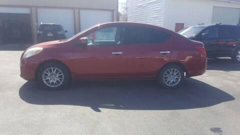 2012 Nissan Versa for sale at BRAMBILA MOTORS in Pocatello ID