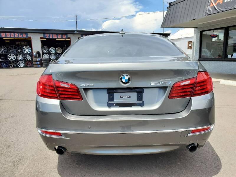 2014 BMW 5 Series AWD 535i xDrive 4dr Sedan - Denver CO