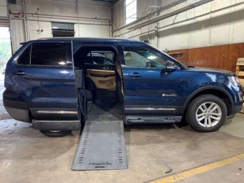 2016 Ford Explorer for sale at AMS Vans in Tucker GA