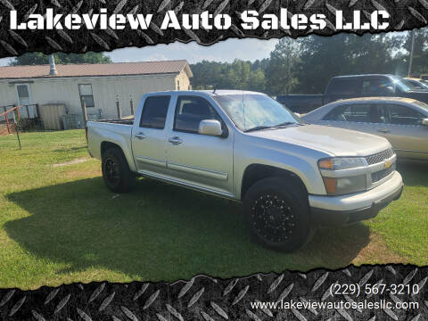2012 Chevrolet Colorado for sale at Lakeview Auto Sales LLC in Sycamore GA