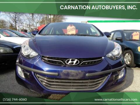 2013 Hyundai Elantra for sale at CarNation AUTOBUYERS, Inc. in Rockville Centre NY