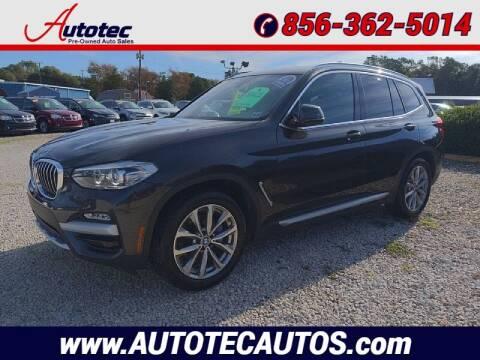 2019 BMW X3 for sale at Autotec Auto Sales in Vineland NJ
