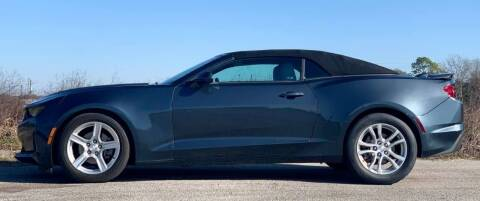 2019 Chevrolet Camaro for sale at Palmer Auto Sales in Rosenberg TX