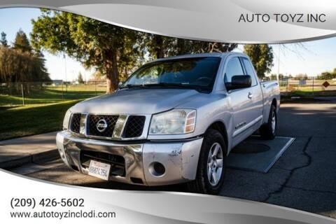 2007 Nissan Titan for sale at Auto Toyz Inc in Lodi CA