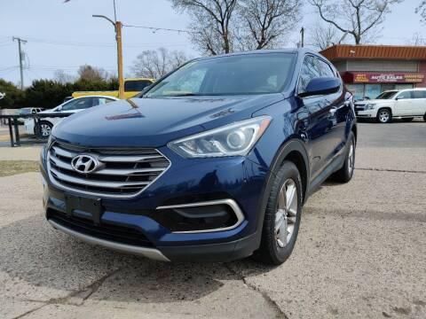 2017 Hyundai Santa Fe Sport for sale at Lamarina Auto Sales in Dearborn Heights MI
