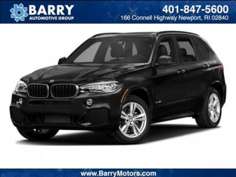 2017 BMW X5 for sale at BARRYS Auto Group Inc in Newport RI