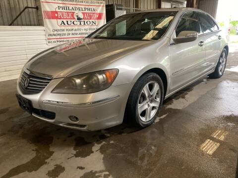 2006 Acura RL for sale at Philadelphia Public Auto Auction in Philadelphia PA