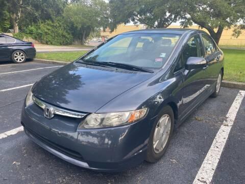 2006 Honda Civic for sale at Florida Prestige Collection in Saint Petersburg FL