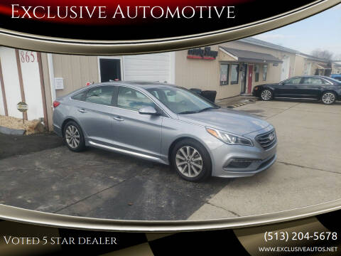 2016 Hyundai Sonata for sale at Exclusive Automotive in West Chester OH