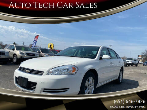 2007 Chevrolet Impala for sale at Auto Tech Car Sales in Saint Paul MN