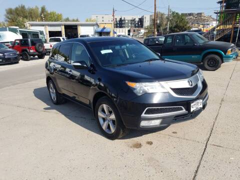2012 Acura MDX for sale at BERKENKOTTER MOTORS in Brighton CO