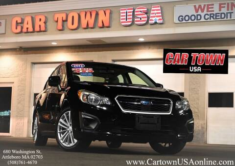 2012 Subaru Impreza for sale at Car Town USA in Attleboro MA