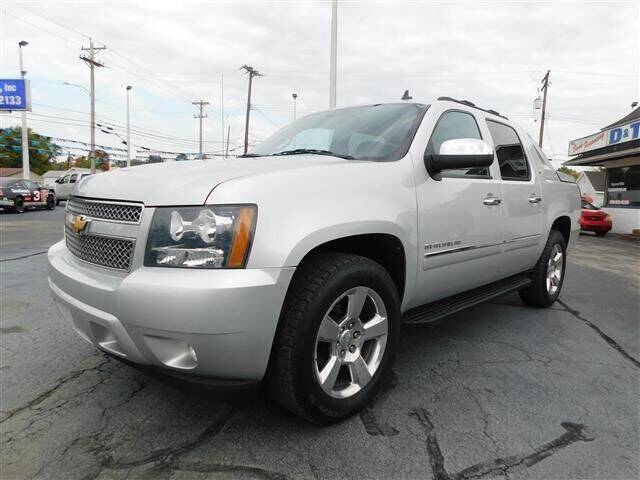 2012 Chevrolet Avalanche for sale at D & T Auto Sales, Inc. in Henderson KY