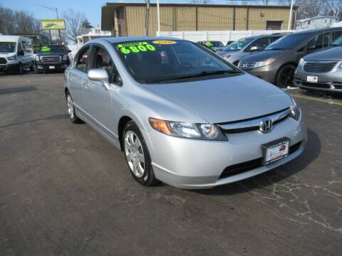 2008 Honda Civic for sale at Auto Land Inc in Crest Hill IL