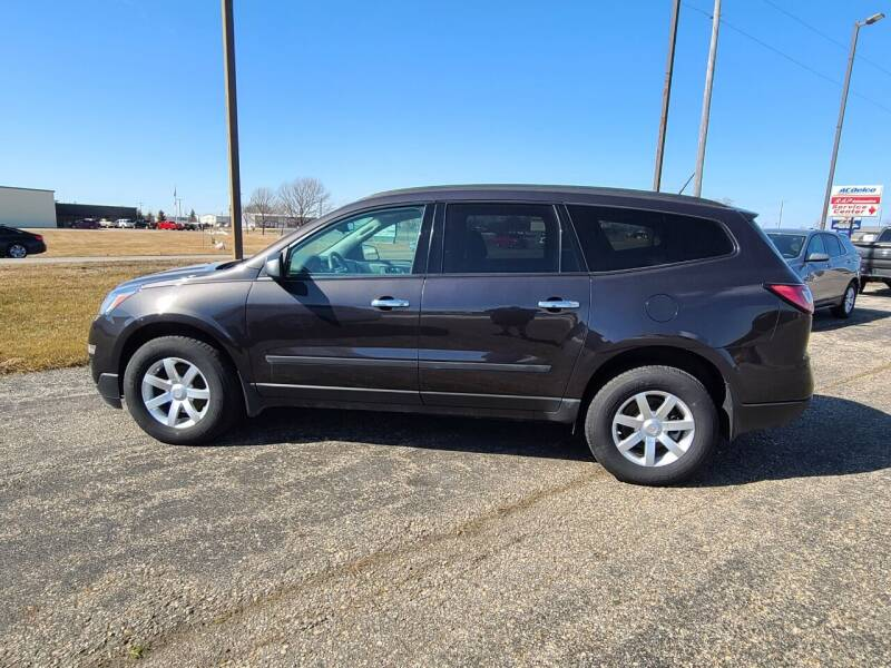 2017 Chevrolet Traverse for sale at RAP Automotive in Goshen IN