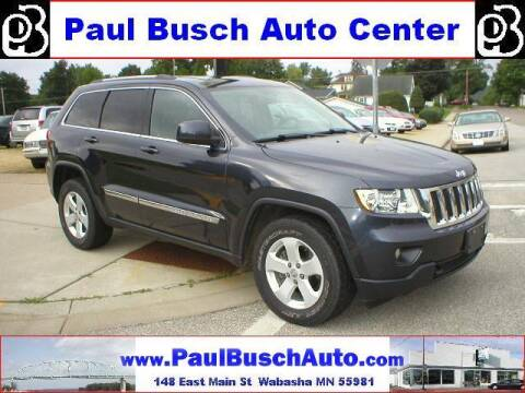 2013 Jeep Grand Cherokee for sale at Paul Busch Auto Center Inc in Wabasha MN