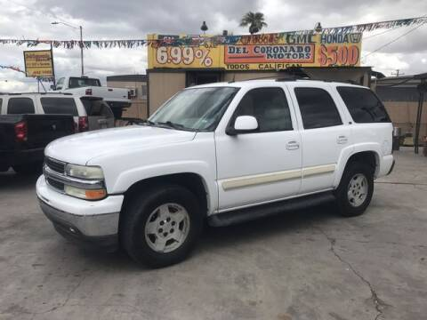 2005 Chevrolet Tahoe for sale at DEL CORONADO MOTORS in Phoenix AZ