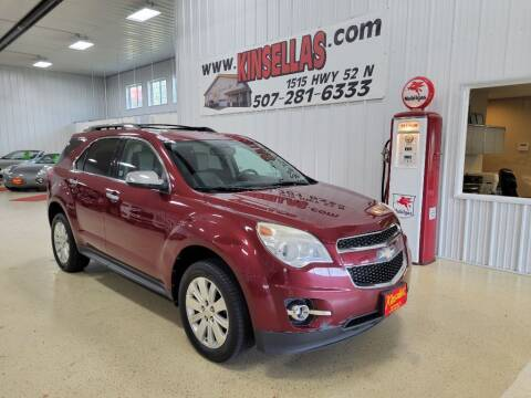 2010 Chevrolet Equinox for sale at Kinsellas Auto Sales in Rochester MN