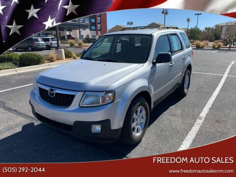 2010 Mazda Tribute for sale at Freedom Auto Sales in Albuquerque NM