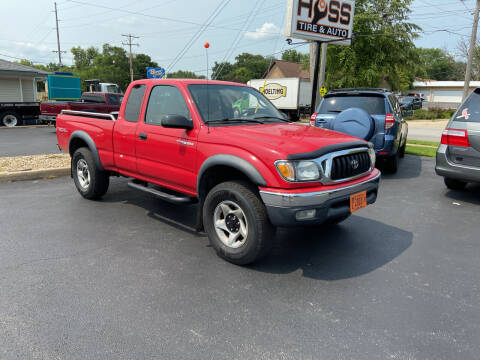 2002 Toyota Tacoma for sale at Hoss Sage City Motors, Inc in Monticello IL