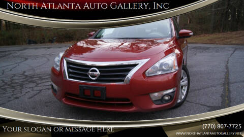 2015 Nissan Altima for sale at North Atlanta Auto Gallery, Inc in Alpharetta GA